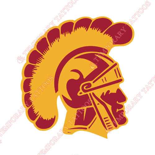 Southern California Trojans Customize Temporary Tattoos Stickers NO.6257