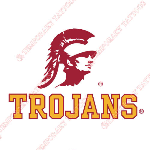 Southern California Trojans Customize Temporary Tattoos Stickers NO.6260