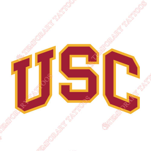 Southern California Trojans Customize Temporary Tattoos Stickers NO.6261