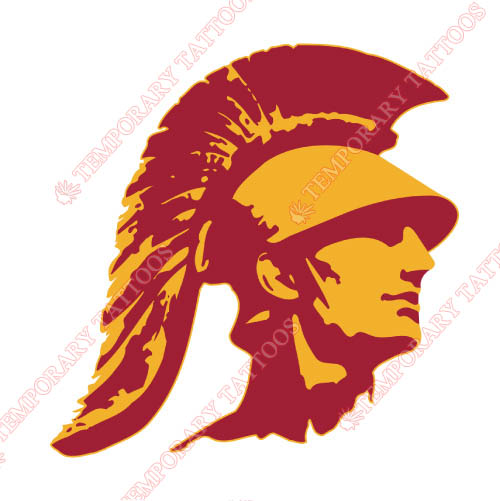 Southern California Trojans Customize Temporary Tattoos Stickers NO.6267