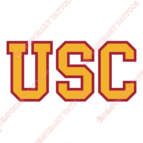 Southern California Trojans Customize Temporary Tattoos Stickers NO.6268