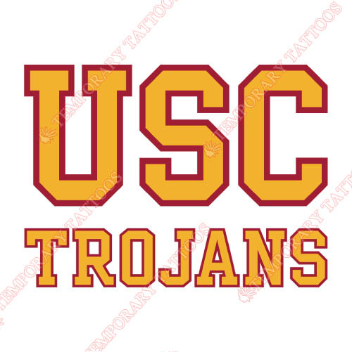 Southern California Trojans Customize Temporary Tattoos Stickers NO.6270