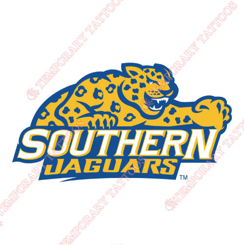 Southern Jaguars Customize Temporary Tattoos Stickers NO.6281