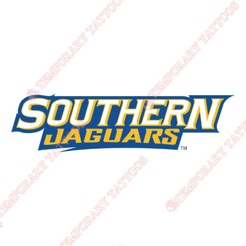 Southern Jaguars Customize Temporary Tattoos Stickers NO.6282