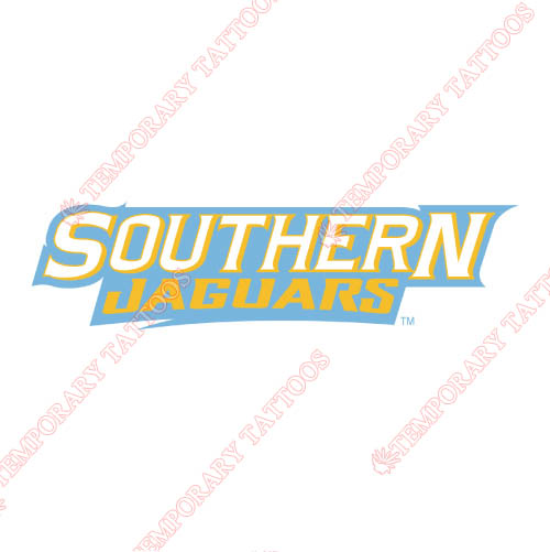 Southern Jaguars Customize Temporary Tattoos Stickers NO.6285