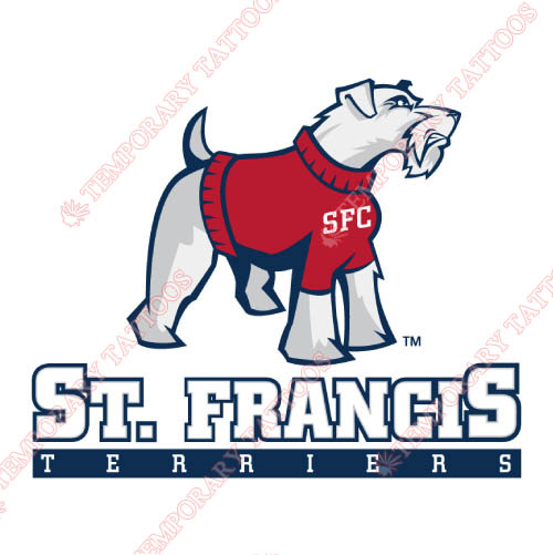 St. Francis Terriers Customize Temporary Tattoos Stickers NO.6334