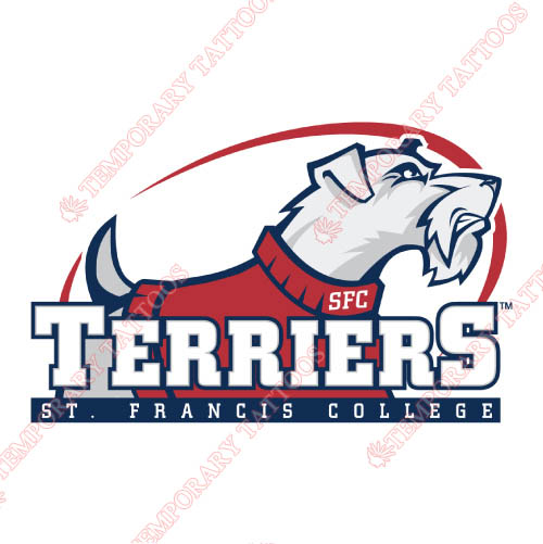 St. Francis Terriers Customize Temporary Tattoos Stickers NO.6337