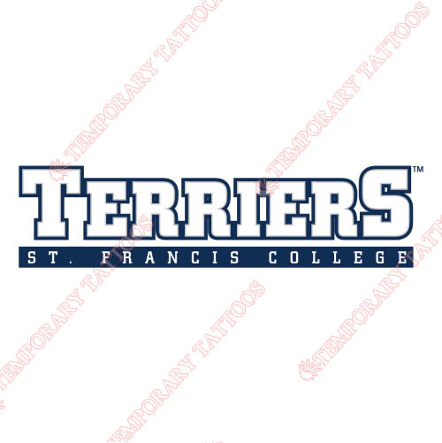 St. Francis Terriers Customize Temporary Tattoos Stickers NO.6338