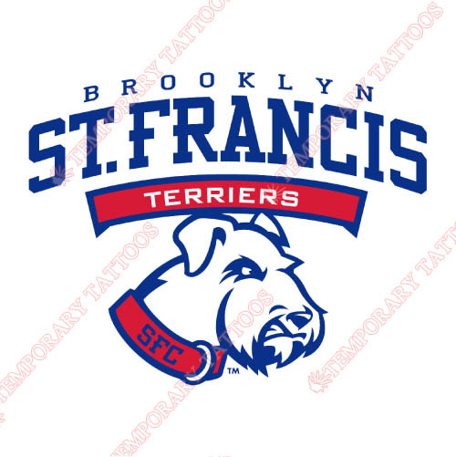 St. Francis Terriers Customize Temporary Tattoos Stickers NO.6342