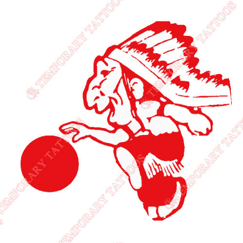 St. Johns Red Storm Customize Temporary Tattoos Stickers NO.6345