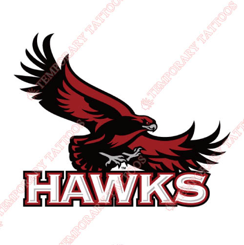 St. Josephs Hawks Customize Temporary Tattoos Stickers NO.6365