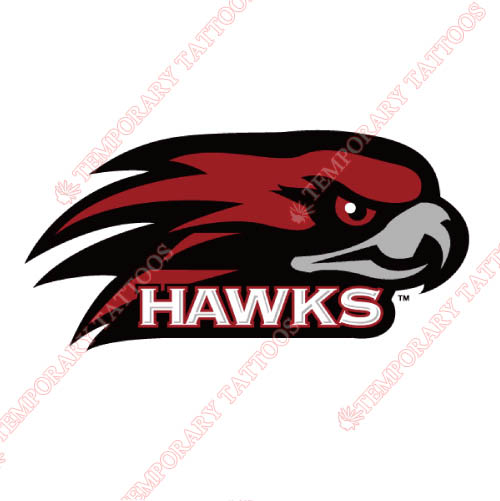 St. Josephs Hawks Customize Temporary Tattoos Stickers NO.6366