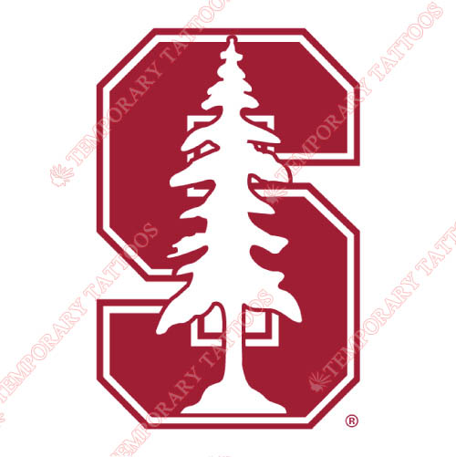 Stanford Cardinal Customize Temporary Tattoos Stickers NO.6377
