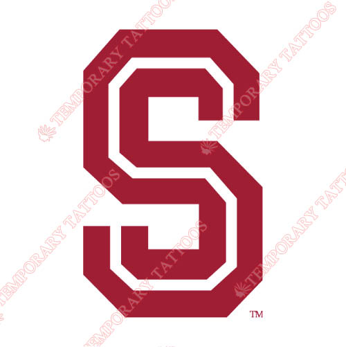 Stanford Cardinal Customize Temporary Tattoos Stickers NO.6378