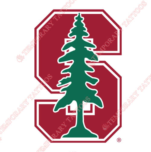 Stanford Cardinal Customize Temporary Tattoos Stickers NO.6381