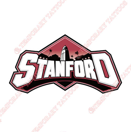 Stanford Cardinal Customize Temporary Tattoos Stickers NO.6384