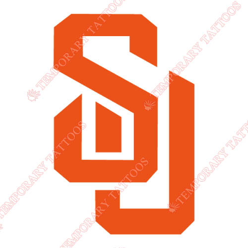 Syracuse Orange Customize Temporary Tattoos Stickers NO.6412