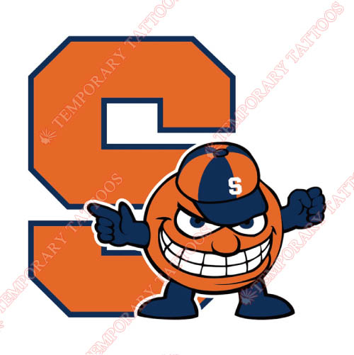 Syracuse Orange Customize Temporary Tattoos Stickers NO.6413