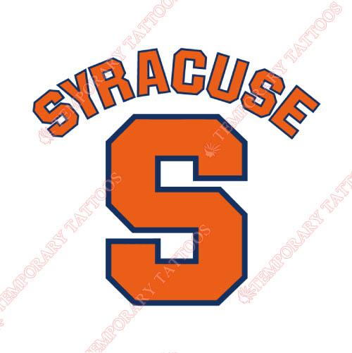 Syracuse Orange Customize Temporary Tattoos Stickers NO.6414