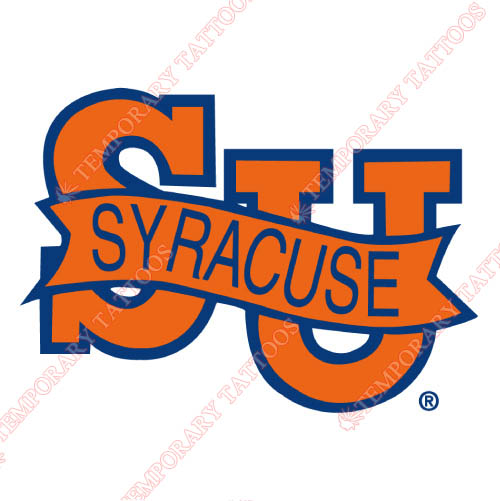 Syracuse Orange Customize Temporary Tattoos Stickers NO.6415