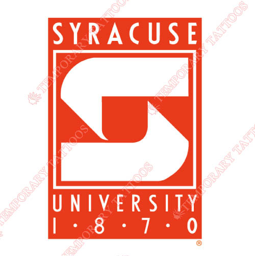 Syracuse Orange Customize Temporary Tattoos Stickers NO.6418
