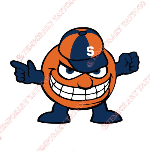 Syracuse Orange Customize Temporary Tattoos Stickers NO.6419