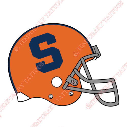 Syracuse Orange Customize Temporary Tattoos Stickers NO.6422