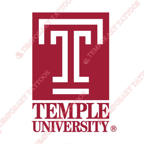 Temple Owls Customize Temporary Tattoos Stickers NO.6438