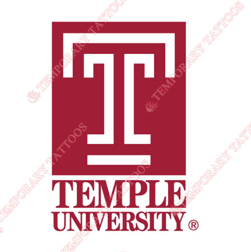 Temple Owls Customize Temporary Tattoos Stickers NO.6439