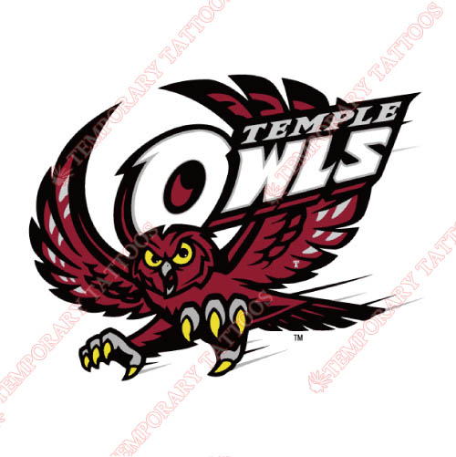 Temple Owls Customize Temporary Tattoos Stickers NO.6445
