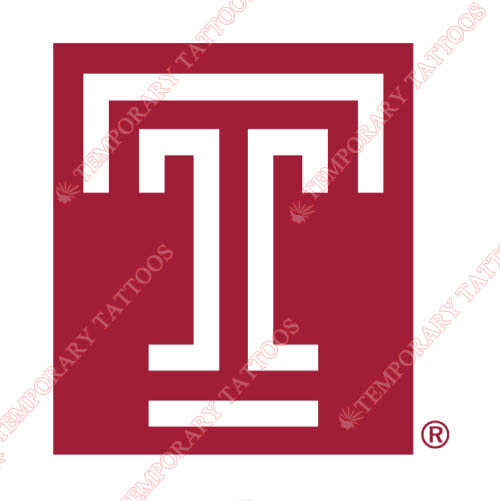 Temple Owls Customize Temporary Tattoos Stickers NO.6446