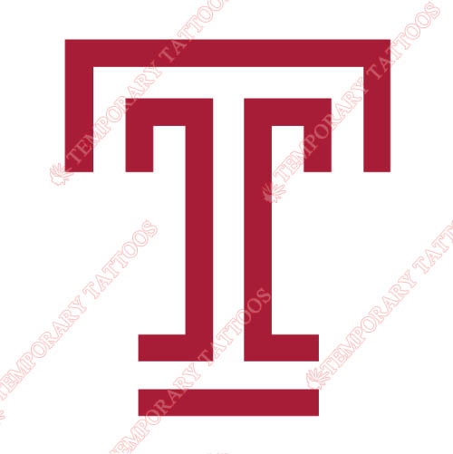 Temple Owls Customize Temporary Tattoos Stickers NO.6447