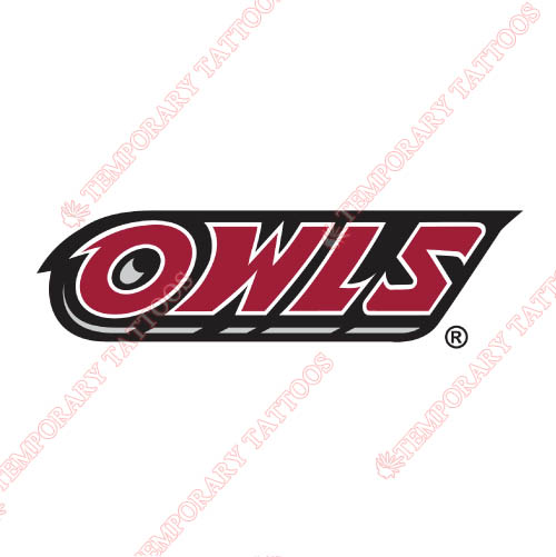 Temple Owls Customize Temporary Tattoos Stickers NO.6448