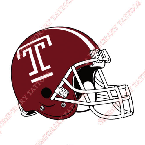 Temple Owls Customize Temporary Tattoos Stickers NO.6449