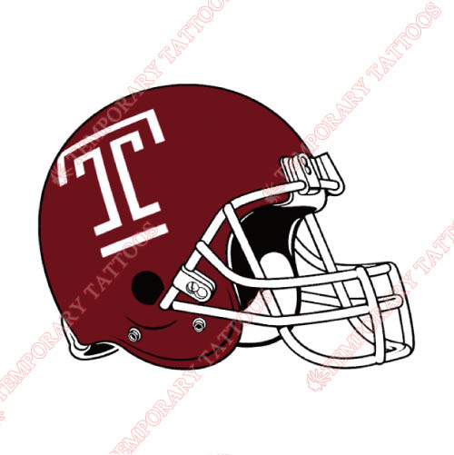 Temple Owls Customize Temporary Tattoos Stickers NO.6450
