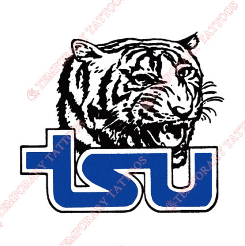 Tennessee State Tigers Customize Temporary Tattoos Stickers NO.6453