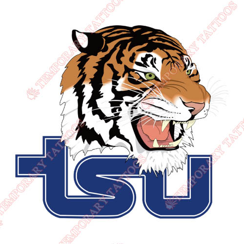 Tennessee State Tigers Customize Temporary Tattoos Stickers NO.6454