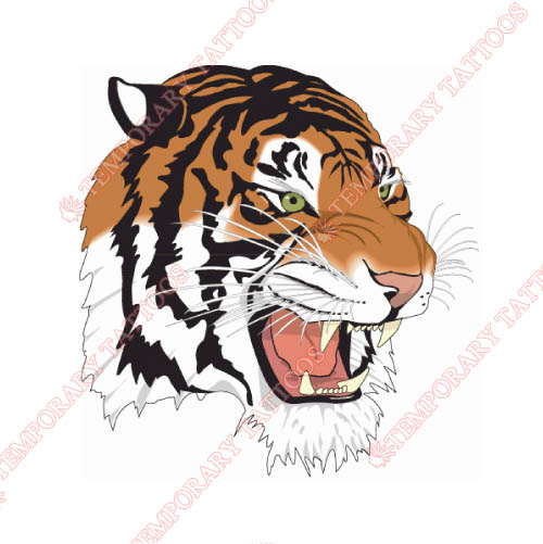 Tennessee State Tigers Customize Temporary Tattoos Stickers NO.6455