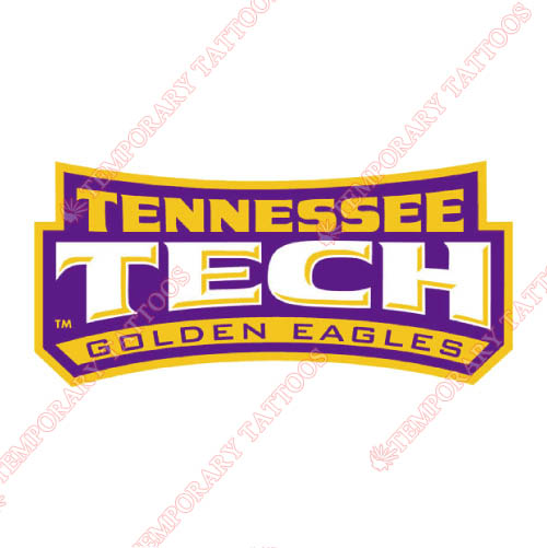 Tennessee Tech Golden Eagles Customize Temporary Tattoos Stickers NO.6456
