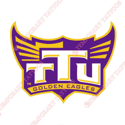 Tennessee Tech Golden Eagles Customize Temporary Tattoos Stickers NO.6457