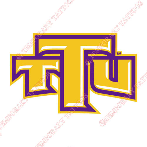 Tennessee Tech Golden Eagles Customize Temporary Tattoos Stickers NO.6460