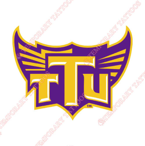 Tennessee Tech Golden Eagles Customize Temporary Tattoos Stickers NO.6462