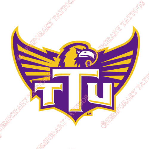 Tennessee Tech Golden Eagles Customize Temporary Tattoos Stickers NO.6463
