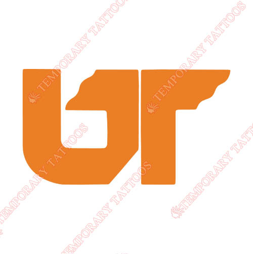 Tennessee Volunteers Customize Temporary Tattoos Stickers NO.6469