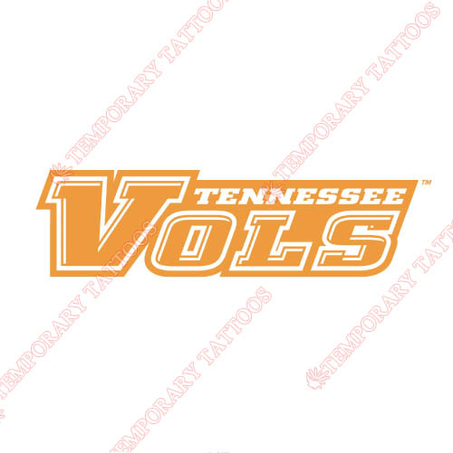 Tennessee Volunteers Customize Temporary Tattoos Stickers NO.6474