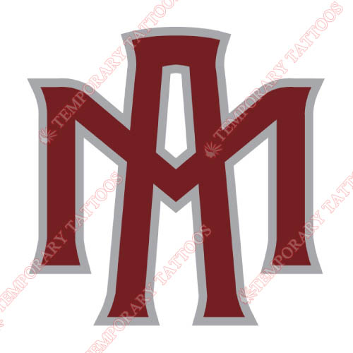 Texas A M Aggies Customize Temporary Tattoos Stickers NO.6485