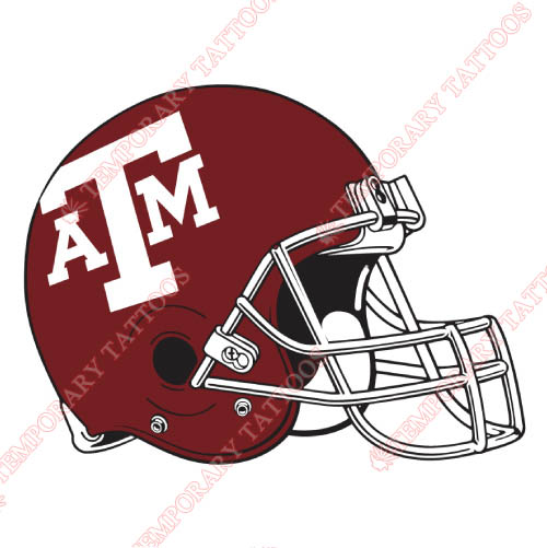 Texas A M Aggies Customize Temporary Tattoos Stickers NO.6497