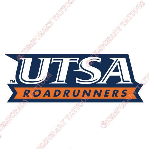 Texas SA Roadrunners Customize Temporary Tattoos Stickers NO.6532
