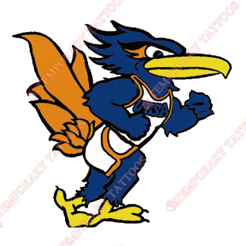 Texas SA Roadrunners Customize Temporary Tattoos Stickers NO.6535
