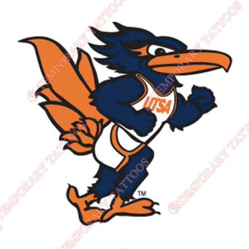 Texas SA Roadrunners Customize Temporary Tattoos Stickers NO.6537